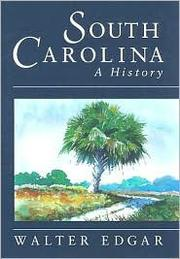 Cover of: South Carolina: A History