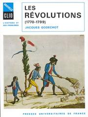 Cover of: Les révolutions, 1770-1799