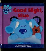 Cover of: Good Night Blue (Blue's Clues)