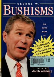 Cover of: George W. Bushisms