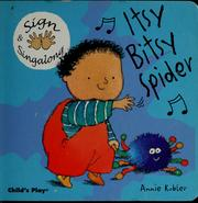 Cover of: Itsy bitsy spider