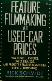 Cover of: Feature filmmaking at used-car prices