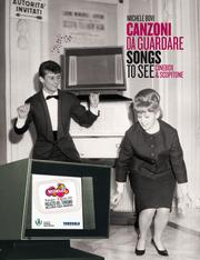 Cover of: Songs to see/Canzoni da guardare - Cinebox & Scopitone