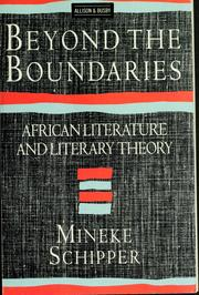 Cover of: Beyond the Boundaries