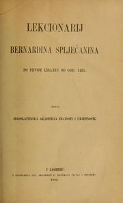 Cover of: Lectionary