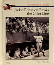 Cover of: Jackie Robinson breaks the color line