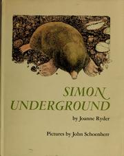 Cover of: Simon underground