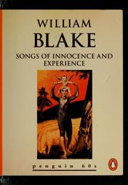Cover of: Songs of Innocence and Experience