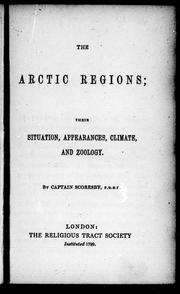 Cover of: The Arctic regions