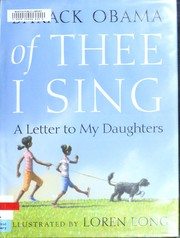 Cover of: Of thee I sing