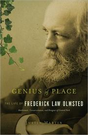 Cover of: Genius of place