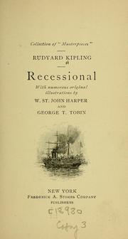 Cover of: Recessional: a Victorian ode