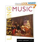 Cover of: Listening to music
