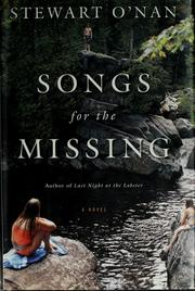 Cover of: Songs for the Missing