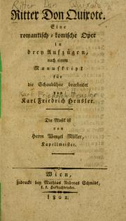 Cover of: Ritter Don Quixote