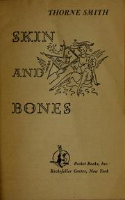 Cover of: Skin and bones