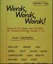 Cover of: Words, words, words!