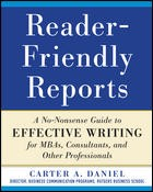 Cover of: Reader-friendly reports