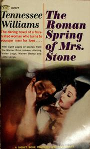 Cover of: The Roman spring of Mrs. Stone