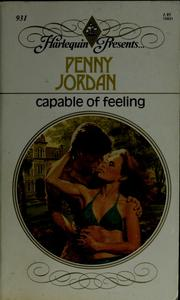 Cover of: Capable of Feeling