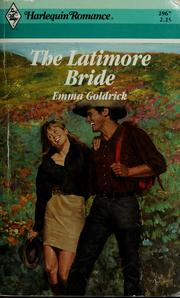 Cover of: The Latimore bride