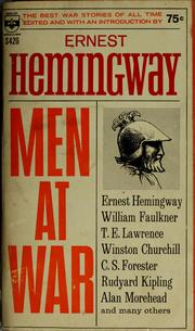 Cover of: Men at war: the best war stories of all time.