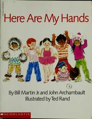 Cover of: Here are my hands