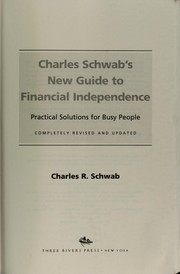 Cover of: Charles Schwab's new guide to financial independence