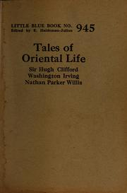 Cover of: Tales of Oriental life