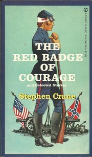 Cover of: The red badge of courage, and selected stories