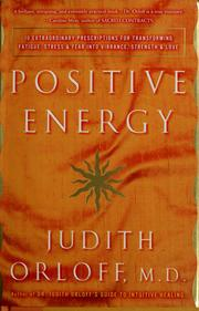 Cover of: Positive energy