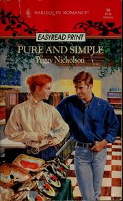 Cover of: Pure And Simple