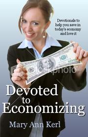 Cover of: Devoted to Economizing