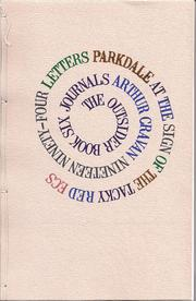 Cover of: The Outsider Journals