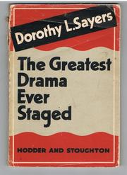 Cover of: The greatest drama ever staged