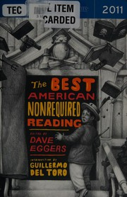 Cover of: Best American Nonrequired Reading 2011