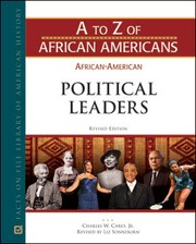 Cover of: African-American political leaders