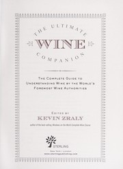 Cover of: The ultimate wine companion
