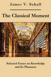 Cover of: The classical moment