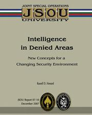 Cover of: Intelligence in Denied Areas