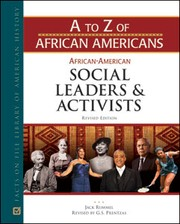 Cover of: African-American social leaders and activists