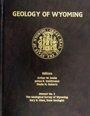 Cover of: Metal and Gemstone Deposits of Wyoming