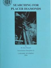 Cover of: Searching for Placer Diamonds