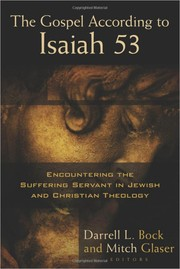 Cover of: The Gospel According to Isaiah 53