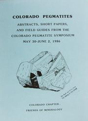 Cover of: Wyoming Pegmatites