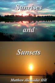 Cover of: Sunrises and Sunsets