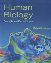Cover of: Human Biology: Concepts and Current Issues