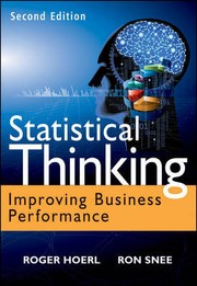 Cover of: Statistical thinking