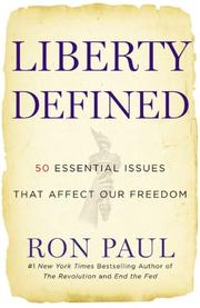 Cover of: Liberty defined