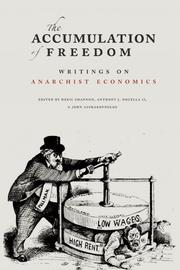 Cover of: The Accumulation of Freedom: Writings on Anarchist Economics